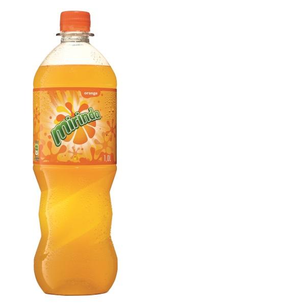 Orangenlimonade – Mirinda 1 L